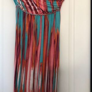 Tart maxi dress size Medium